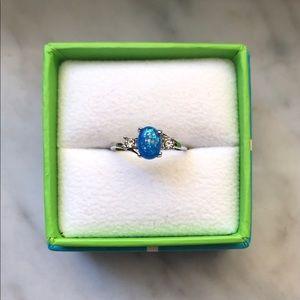 Jewelry - Blue fire opal ring